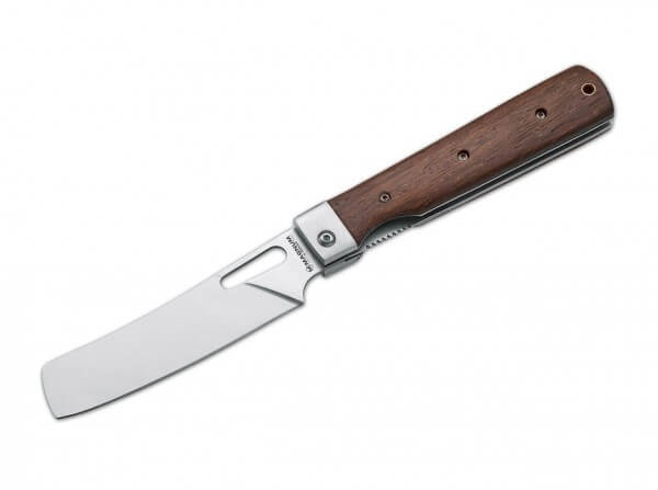 Taschenmesser, Braun, Daumenöffnung, Linerlock, 440A, Rosenholz
