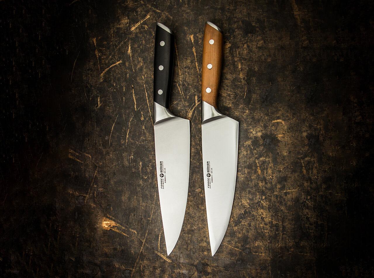 Boker Manufaktur Forge Wood Chefmesser Boker Solingen